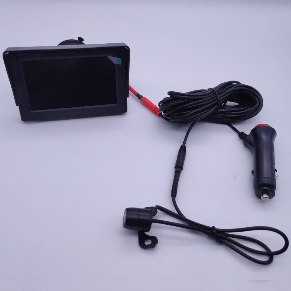 lowest price New car Monitor 5inch 800 480 TFT LCD HD Screen Monitor for Car Rear Rearview Backup Camera  Parking System Two inputs