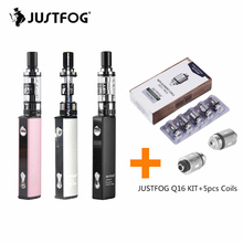 Original Justfog Q16 Starter Kit with 900mah Li-ion Battery and Clearomizer E Cigarette Vape Pen