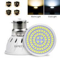 GU10 светодиодный лампы 220V E27 прожектор MR16 светодиодный светильник E14 Lampara светодиодный B22 пятно света GU5.3 Кукуруза лампы 48 60 80 энерго сберегающ...
