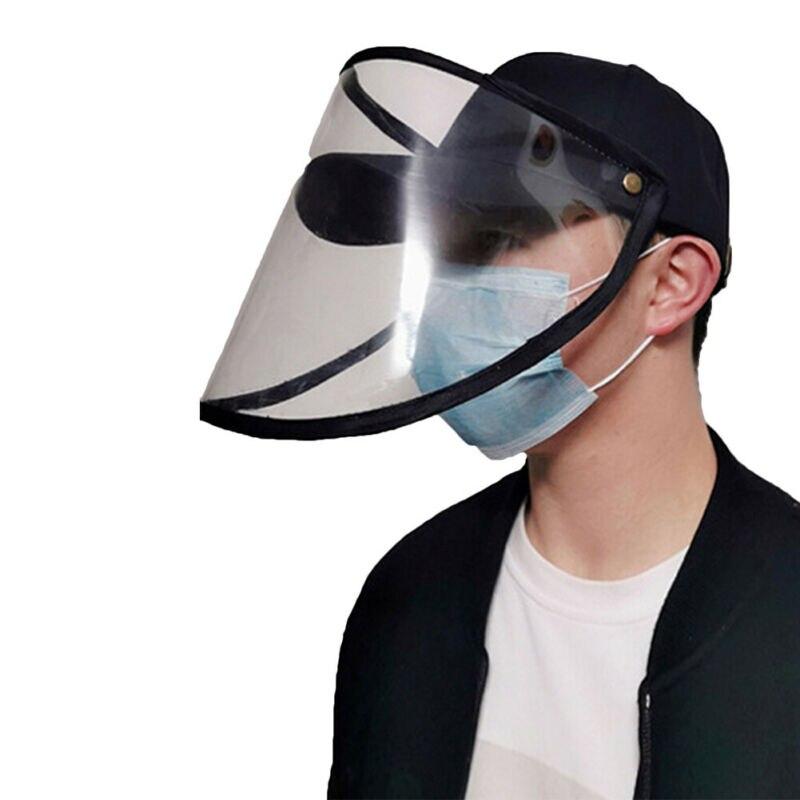Drop Ship Summer Adjustable Size Hats Anti Droplets Anti-spitting Protective Hat Men Dustproof Cover Peaked Caps Baseball Cap
