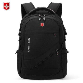 Anti-thief USB Charging Laptop Backpack Men Oxford bagpack Waterproof Travel Backpack Vintage School Bag 15/17inch Male Mochila 1