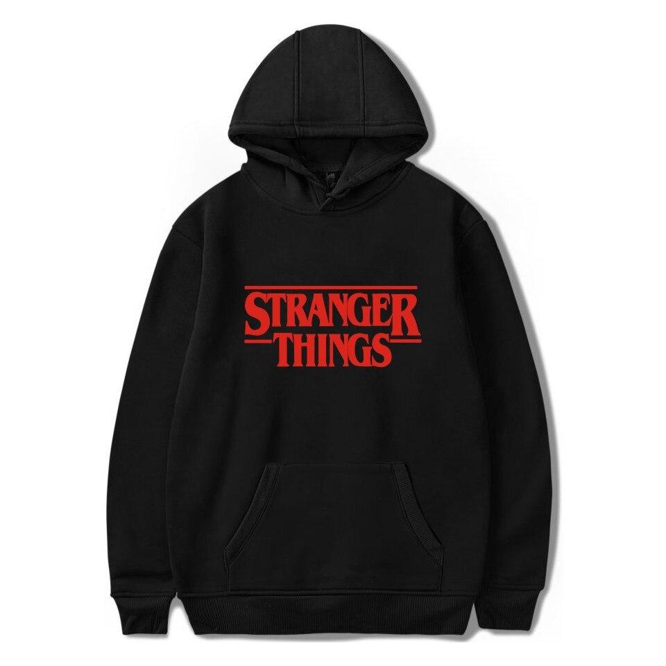 Stranger Things Hoodie Stranger Things Loose And Plus-sized Models In Europe And America Women's Sweats & Hoodies