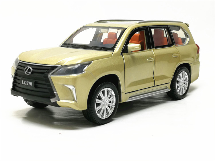 Lexus LX570 Model Toy Car with Lights 14