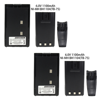 2X Replacement Battery for Hytera HYT BH1104 BH1302 TC-500 TC-446 TB-75 Radios Battery with Belt Clip 2x replacement battery for hytera hyt bh1104 bh1302 tc 500 tc 446 tb 75 radios battery with belt clip