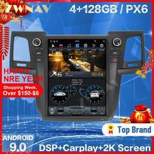 128G ekran tesli dla TOYOTA Fortuner HILUX Revo 2005-2015 Android 9 samochodowy odtwarzacz multimedialny Radio samochodowe GPS Auto Stereo jednostka główna