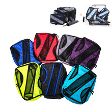Men Women Nylon Travel Bag Organizer Hand Luggage Practical Woman Foldable Large Capacity Travel Bag Men Women Duffle Bag