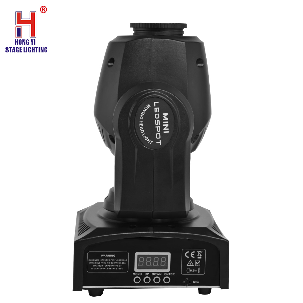 led mini moving head 30W sport light with 7 gobos lights moving di lighting effect - 4