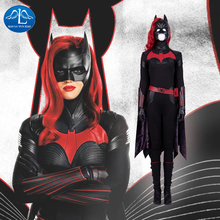 Batwoman Batgirl Cosplay Costume Halloween Superhero Batgirl jumpsuit Kate Kane Costume Batwoman Sexy Bodysuit Colak Custom Made