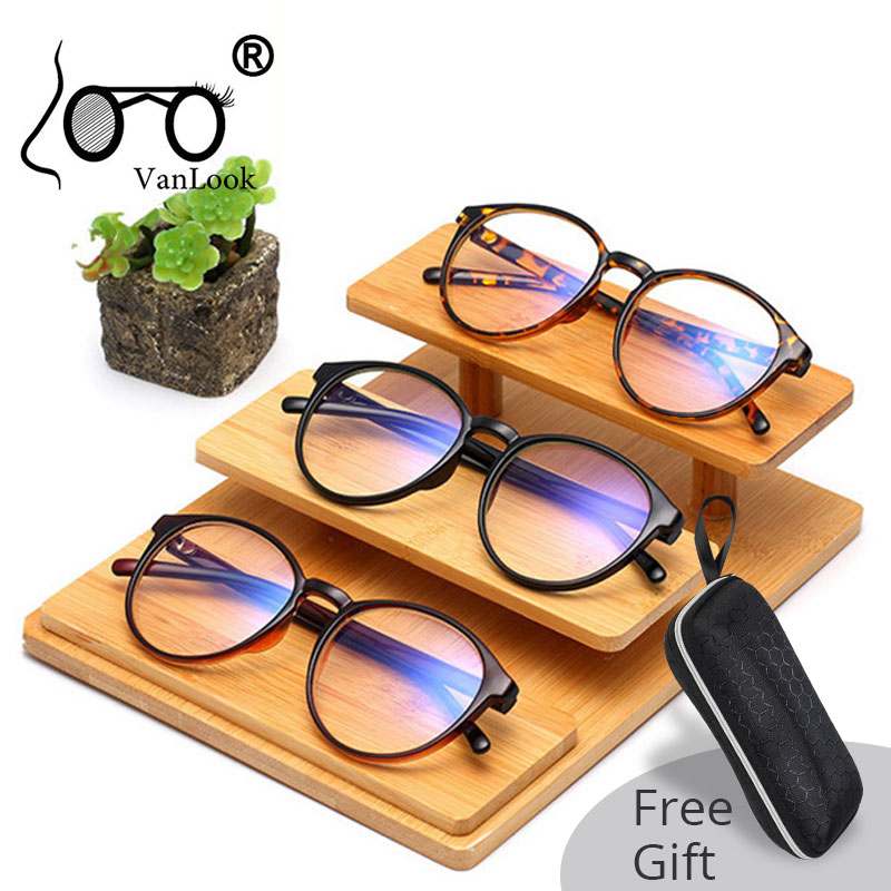 Anti Blue Ray Radiation Computer Glasses Blue Light Blocking For Women Men Transparent Spectacle Frame Clear Fashion Eyeglasses