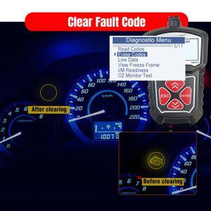Image 2 - 2020 najnowszy profesjonalny samochodowy czytnik kodów diagnostyczne narzędzie skanujące KW309 OBD2 skaner motoryzacyjny Check Engine światła narzędzia Mu