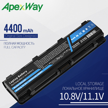 Buy Apexway PA5109U-1BRS Laptop Battery for Toshiba Satellite C50 C50D C55 C55D C55Dt PA5108U-1BRS PA5110U-1BRS directly from merchant!