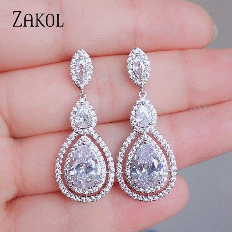 Elegance Crystal Earrings