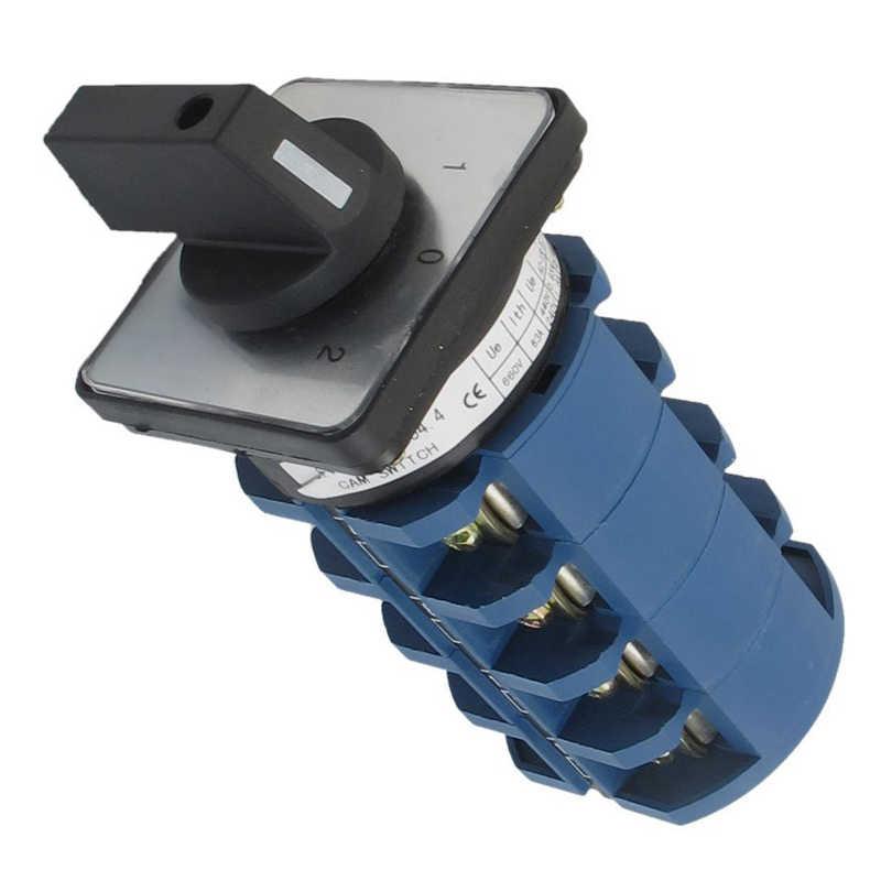 Горячая XD-AC 660V 63A 3 позиции 4NO + 4NO поворотный переключатель кулачковый переключатель