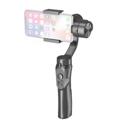 New Phone Stabilizing Holder 3 Axis Handhold Gimbal Stabilizer Handle for iPhone Samsung Huawei