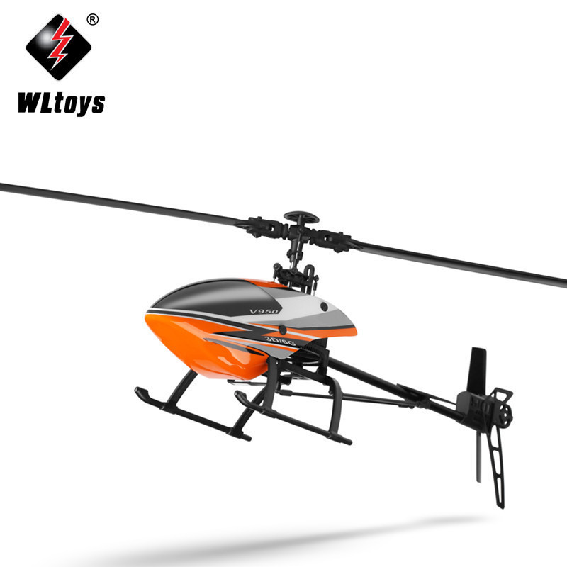 Weili V950 Six-way Joint Stand-up Non-Aileron Remote Control Helicopter Brushless Medium Unmanned Aerial Vehicle Model Airplane