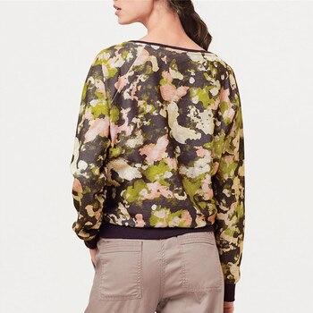 2019 Autumn Women Sweatshirt Casual Long Sleeve O Neck Print Pullover Jumper Hoodies Sweatshirts Leisure Tops Sudaderas Mujer 1