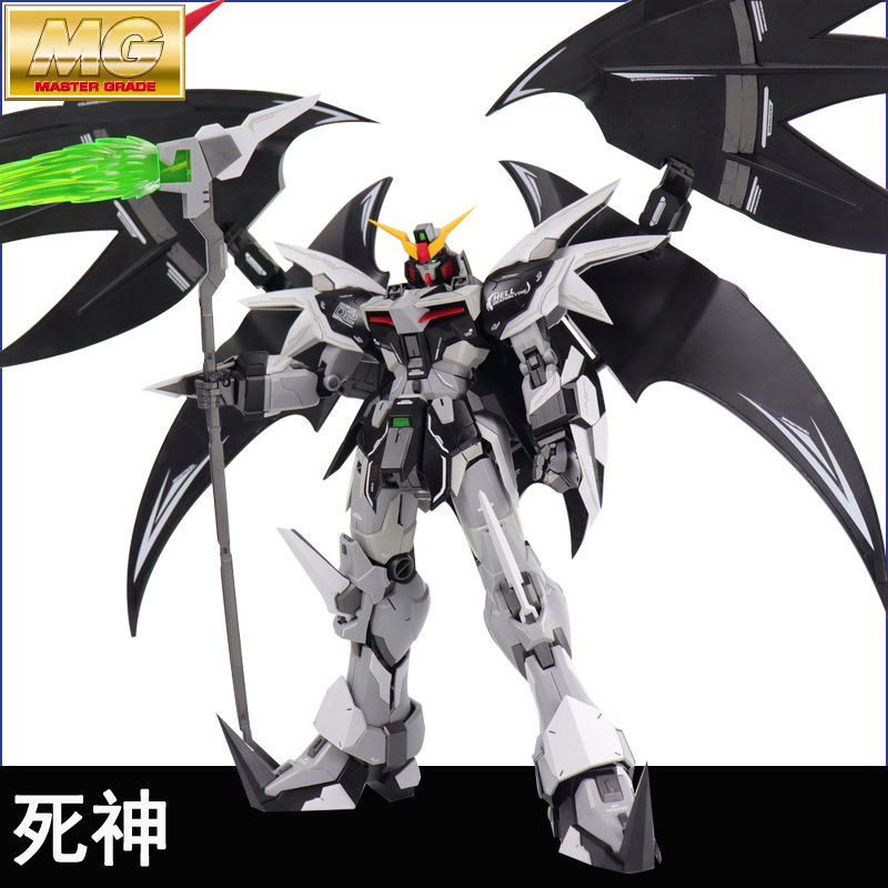 Supernovae MG 1/100 XXXG-01D2 Gundam D-Hell CustomAssembled Gundam Model Action Figure Decoration Kids Toy Gift