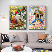 Diamond Painting Bird 5D DIY Custom Full Square/round Drill Embroidery Home Decor Mosaic Cross Stitch Kit Handicrafts Mural Gift