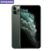Entsperren Original Verwendet Apple iphone 11 Pro Max handys 6,5 in Gesicht 4 + 64/256GB 4G LTE GPS & NFC 12 + 12 MEGAPIXEL 1SIM Karte Smartphone A13
