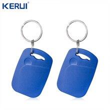 Orijinal Kerui RFID kart 1 adet 2 adet RFID kart ev güvenlik alarm sistemi tokatlamak kartı