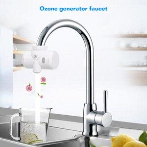 Самоуправляемая вода на кран озоновый генератор кран O3 очиститель воды (белый)