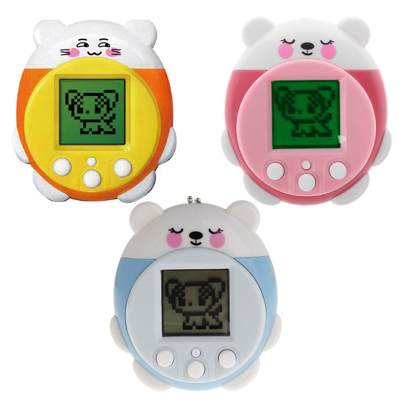 Mini Electronic Pets Toys 90S 9 Pets In One Virtual Cyber Pet Toy Funny Christmas Gift For Kids Adults R7RB