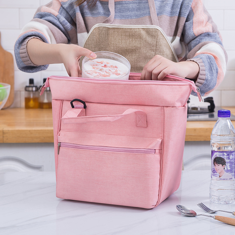 Portable Thermal Lunch Bags Drink Cold Insulated Cooler Bags Storage Women Kids Food Bento Bag Portable Leisure Accessorie