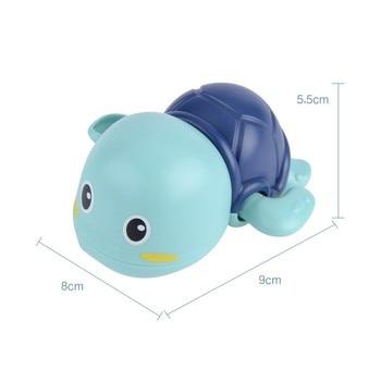 Baby Bath Toys Zabawki Do Kapieli  ABS  Wind Up  Tortoise Style  Beach Bathroom Swiming Pool Play Water kids Toddler Toys 5