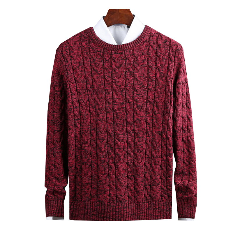 3 Colour New Fashion Cotton Sweaters Man Pullovers O-Neck Slim Fit Jumpers Knitwear Thick Autumn Korean Style Casual Mens Clothe