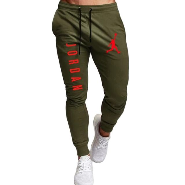 2020 Casual Pants Men Joggers Sweatpants Solid Color Trousers Fitness Sportswear Jogger Track Pant Plus Size S-2XL Summer Spring 3