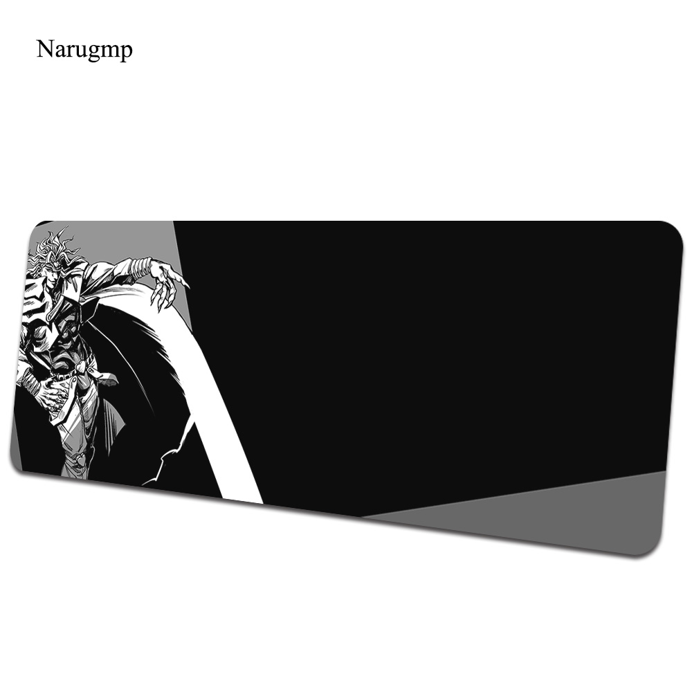Jojo's Bizarre Adventure mouse pad Dio Brando Computer mat 800x400mm gaming mousepad cute padmouse keyboard games pc gamer desk image