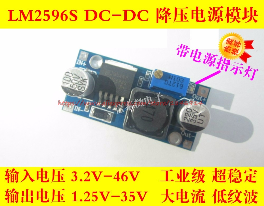 Trustful Free Shipping Lm2596 Lm2596s Dc-dc Buck Power Buck 3a Adjustable Buck Sensor Skillful Manufacture