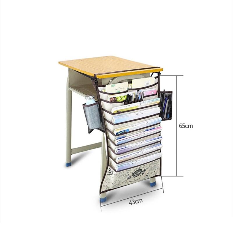 Multifunctional Desk Book Organizer Hanging Bag