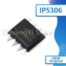 5 pçs/lote novo original ip5306 2.1 um carregamento/alta integrado chip de alimentação móvel remendo 2.4 uma descarga