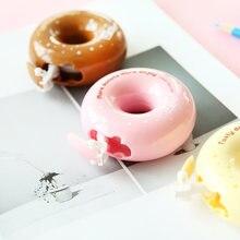 4 шт Мини вкусные пончики Корректирующая лента 5 мм белый diy