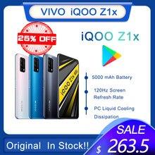 Original vivo iqoo z1x duplo-modo 5g smartphone snapdragon 765g celular 5000mah bateria 33w carregamento 120hz celular celular celular