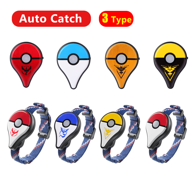 Auto Catch Bluetooth Wristband For Pokemon Go Plus Game Accessories Bracelet Watch For Nintend Pokemon GO Plus With USB Charging