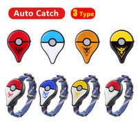 Auto cattura Bluetooth Wristband Per Pokemon Go Plus Gioco Accessori Della Vigilanza Del Braccialetto per Nintend Pokemon GO Plus con USB di Ricarica