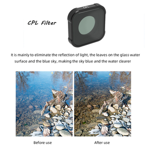 Image 5 - Hero 9 action Camera Lens Filters Set UV CPL ND4/8/16/32/64 Star Night Diving pink red for GoPro Hero 9 black Filter Accessorie