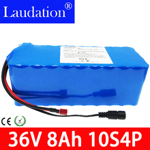 10S 4P 36V 8Ah 8000mAh 500W High Power and Capacity 42V 18650 Li-ion Battery Motorcycle Electric Car Bicycle Scooter with BMS liitokala 36v 6ah 8ah 10 500w 18650 lithium battery 36v 8ah electric bike battery with pvc case for electric bicycle