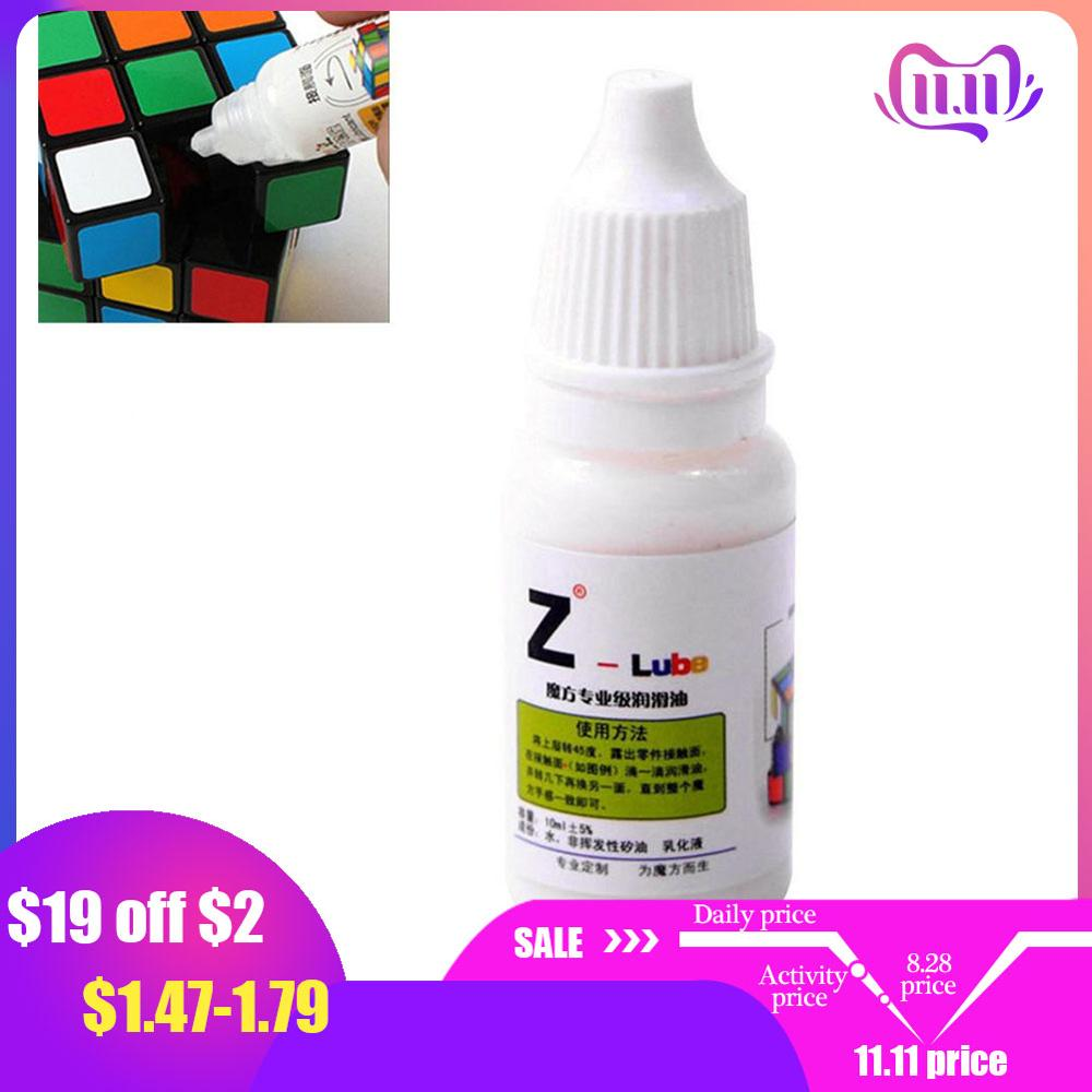 1 Pcs Z-lube Lube Cube Lubricating Oil 10ML Cubo Magic Maru Cube Oil Best Silicone Lubricants Best Silicone Lubricants Toys