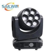 7*40 Вт прожектор rgbw 4в1 светодиодный движущийся головной Луч света сценическое освещение DJ освещение для события вечерние Клубные