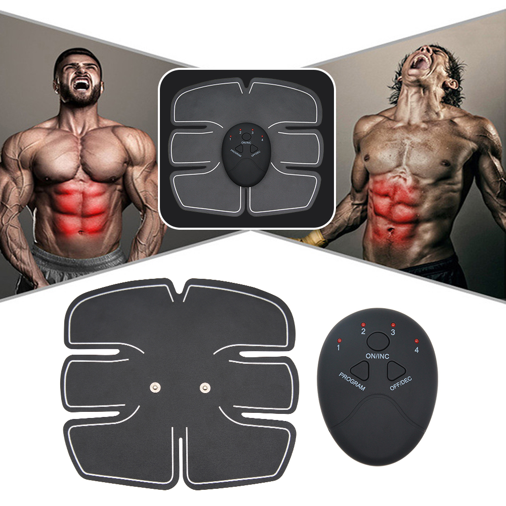 EMS Wireless Muscle Stimulator Trainer Smart Fitness Abdominal Training Electric Weight Loss Stickers Body Slimming Massager 1
