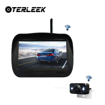 New Arrival ,Buit-in 4.3 inch Wireless LCDScreen Car Camera and IR Night Vision Waterproof  Auto Car Reverse Camera
