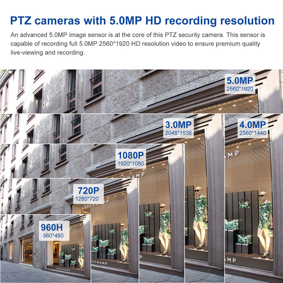 Image 5 - POE 5MP Speed Dome PTZ Camera MINI HD 1080P H.265 4X Zoom Motorized lens 2MP Pan Tilt IR 30M P2P ONVIF CCTV Security IP Camera-in Surveillance Cameras from Security & Protection