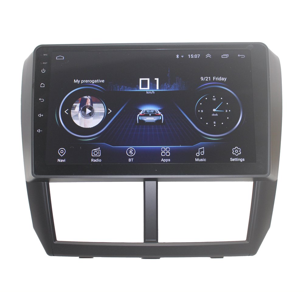 Image 2 - 4G WIFI 2G 32G Android 9.0 2 din car radio for Subaru Forester Impreza 2008 2009 2010 2011 12 car audio автомагнитола car stereoCar Radios   -