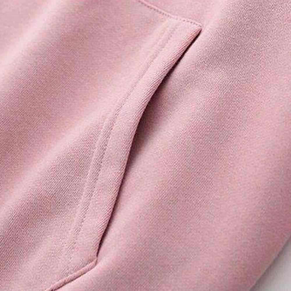原宿ファッションレディース長袖パーカートレーナーカジュアル女性のスエットシャツ女性冬秋トップス女性の costum A4