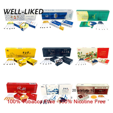 OUKE 10 Pack Tea Cigarette Clearing Lung To Quit Smoking Fine Thick Tea Herbal Cigarettes M