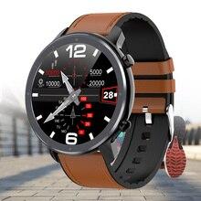 цена на Fitness  Sport Smart Watch Men Women ECG Heart Rate Blood Pressure Monitor 1.3 inch Full Screen Touch IP68 Waterproof Smartwatch