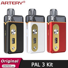 Artillery PAL – Kit Original de 3 dosettes, batterie de 1000mah avec cartouche de 3ML, vaporisateur de Cigarette électronique 25W MTL RDL HP Coil